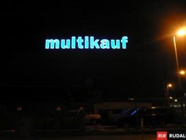 Leuchteinzelbuchstaben - Buchstabenhöhe 2 Meter
