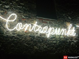 freiliegende Neonhandschrift
